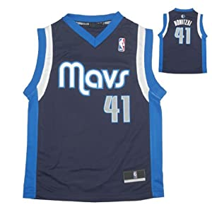 NBA DALLAS MAVERICKS NOWITZKI #41 Youth Comfortable Fit Sleeveless Jersey Shirt by NBA