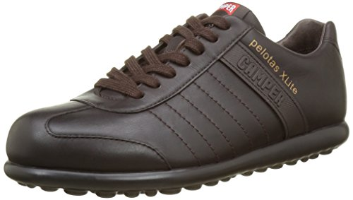 Camper Adults - Pelotas Xl, Stringate da uomo, marrone (dark brown), 43 EU