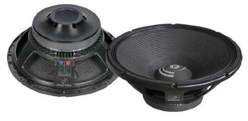 Pyle-Pro - 15'' 1600 Watt Professional 8 Ohm Replacement Subwoofer