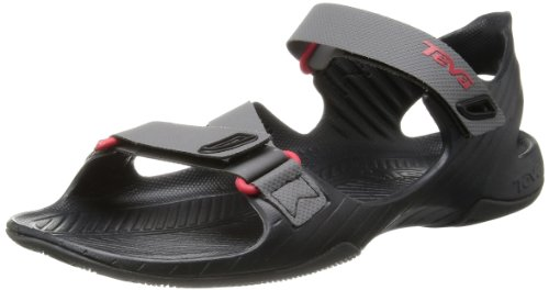 Teva Men'S Barracuda Emboss M Sandal,Charcoal Grey,11 M Us front-1018077
