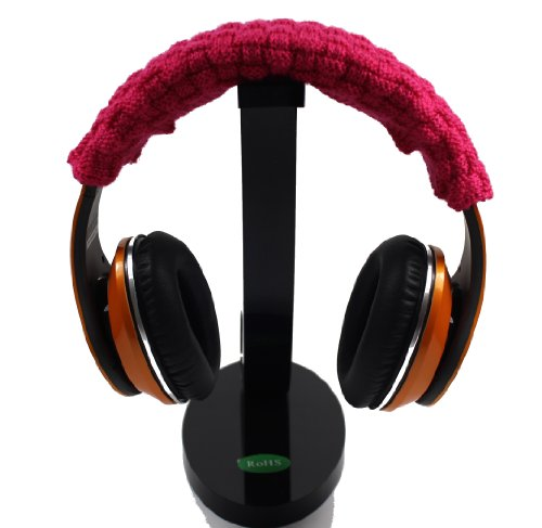 Hot Pink Headphone Headband Pad Top Head Cushion Replcement Protector For Logitech G35 G930 Headband
