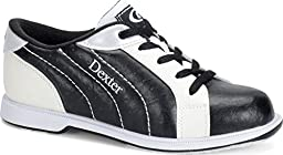 Dexter Women\'s Groove II Bowling Shoes, Black/White, 8