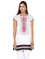Gili Ladies Synthetic Embroidered Kurta