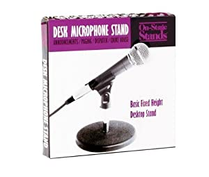 On Stage Desktop Microphone Stand
