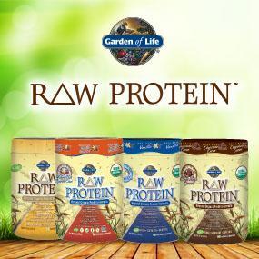 Garden of Life RAW Organic Protein Vanilla 631g Powder