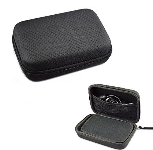 Schwarzes Hartschalentasche Navi-Tasche