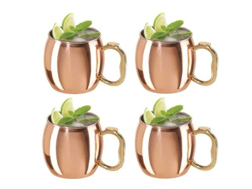 Oggi Moscow Mule Mug Set of 4