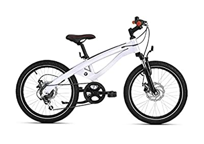 "BMW Genuine Junior Cruise Bike 20"" Wheels 6 Shimano Gears White/ Red 80912412534"