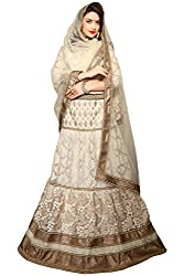 Silvermoon women's Net Embroidered heavy lehenga choli-sm_MIKLA57D_White_free size