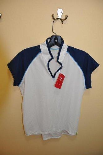 Buy Low Price Sugoi Women's Venus Jersey White / Navy Medium (B001AQJUUO)
