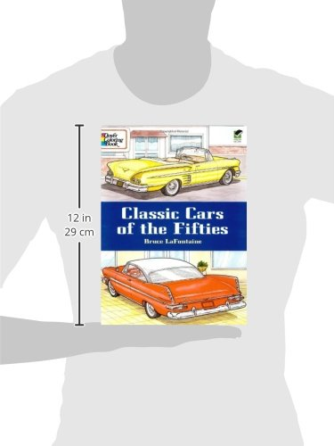classic cars of the fifties dover history coloring book