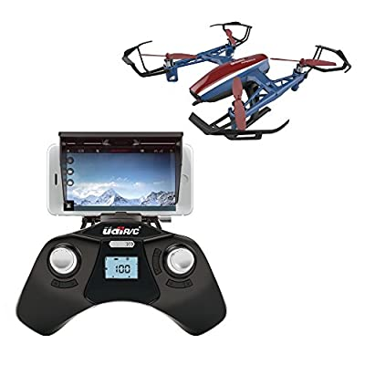 U28W Wifi FPV Drone w/ Altitude Hold | Wide Angle HD Camera and Live Video + Remote Control | For Aerial Photography, Easy to Fly for Expert Pilots & Beginners | Bonus Battery | Great Gift Idea from UDIRC