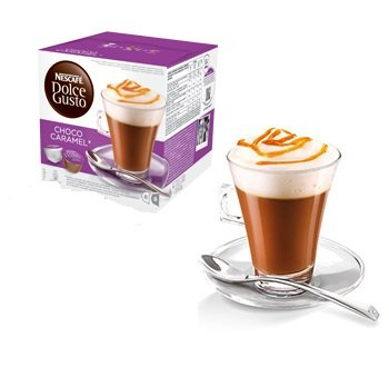 Purchase Nescafe Dolce Gusto Chocolate Choco Caramel Pods 8 Drinks from DOLCE GUSTO