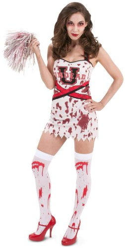 Leg Avenue Womens Zombie Cheer Squad Adult Costume