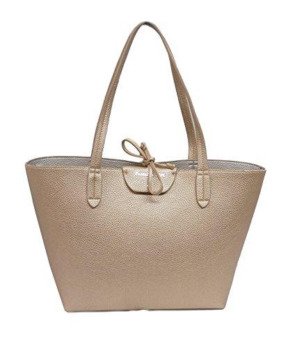 Patrizia Pepe borsa shopping 2V5452AV63 oro/argento reversibile