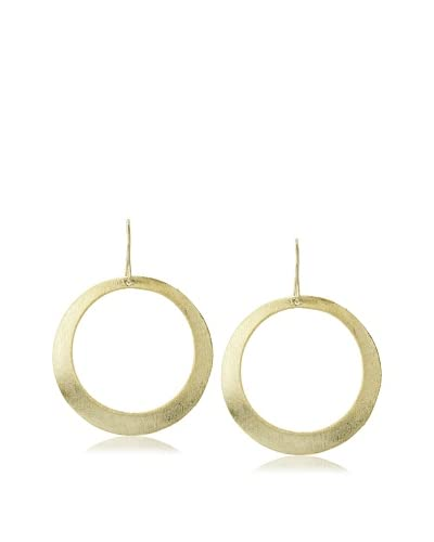 Betty Carre Brushed Circle Earrings