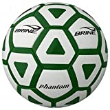 Brine Phantom Soccer Ball - Size 5, Forest Green