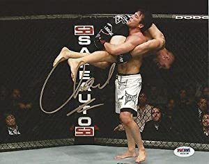 Chael Sonnen Signed UFC 8x10 Photo COA Picture Autograph 117 148 136 159 - PSA/DNA Certified - Autographed UFC Photos