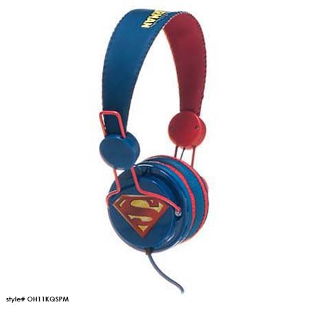 Bioworld On-Ear Headphone Superman