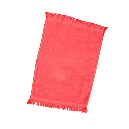 (12 Pack) Set Of 12- Promotional Priced Fingertip Towels (Red)