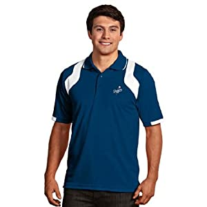 Los Angeles Dodgers Fusion Polo (Team Color) by Antigua