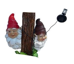 Amazon.com : Garden Sun Light F0022 Gnomes Wink and Seek String Solar Light : Landscape In ...