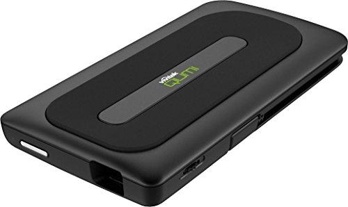 VIVITEK バッテリー搭載 モバイル プロジェクター QUMI Q1-BK ブラック ( 50ルーメン / VGA / 6~60インチ / スピーカー内蔵 ) 5100261400