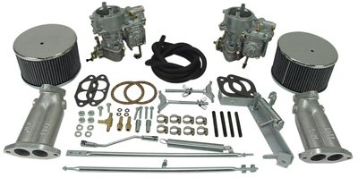 EMPI 40 SOLEX DUAL CARB KIT Dune Buggy VW Baja Bug
