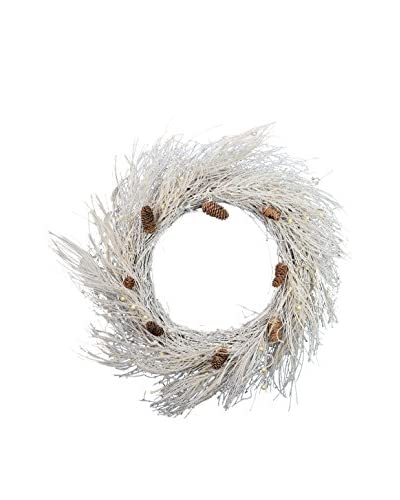 38 Snow Berry Wreath, Snow