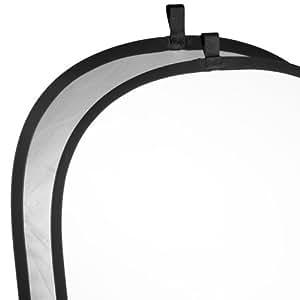 Réflecteur walimex pliable argent/blanc, 91x122 cm