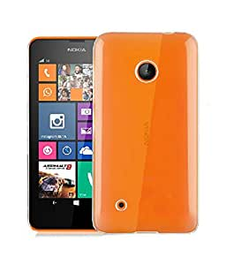 PES Exclusive Soft Silicone TPU 0.3mm Transparent Clear Case Back Case Cover For Nokia Lumia 530