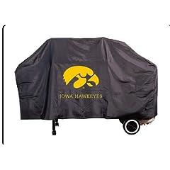 Buy NCAA Iowa Hawkeyes 68-Inch Grill Cover by Seasonal Designs