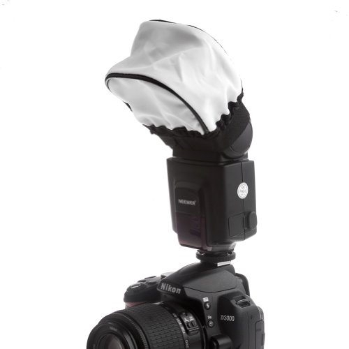 Neewer® Pro (Pro Version Of Neewer® Product) Universal Soft Mini Flash Bounce Diffuser Cap For On Camera Or Off Camera Flash Gun, For Canon 430Ex Ii, 580Ex Ii, 600Ex-Rt, Nikon Sb600 Sb800 Sb900,Sb910, Neewer Tt520, Tt560, Tt680, Tt850, Tt860, Youngnuo Yn5