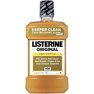 Amazon Com Listerine Antiseptic Mouthwash Original 1 5