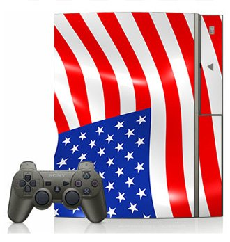 American Flag Skin for Sony Playstation 3 Console