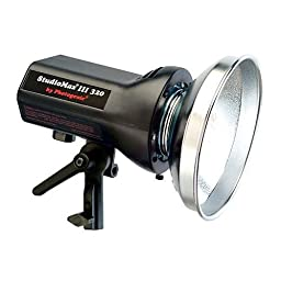 Photogenic AKC320R StudioMax III AC Operated 320ws Constant Color Monolight with Built-In Radio Trigger