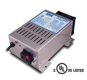 IOTA DLS-55/IQ4 12 VOLT 55 AMP 4 STAGE AUTOMATIC SMART BATTERY CHARGER / POWER SUPPLY