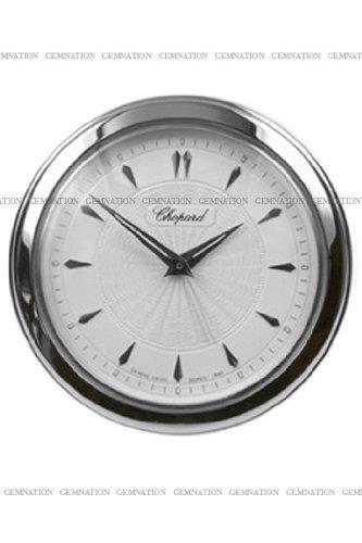 Chopard L.U.C. Desk Clock Rhodium Steel Mechanical Clock 51/1860-01