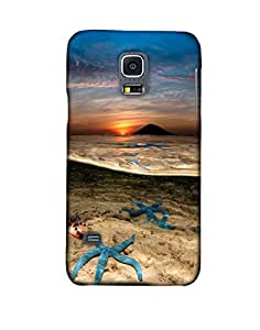 Pick Pattern Back Cover for Samsung Galaxy S5 Mini G800h (MATTE)