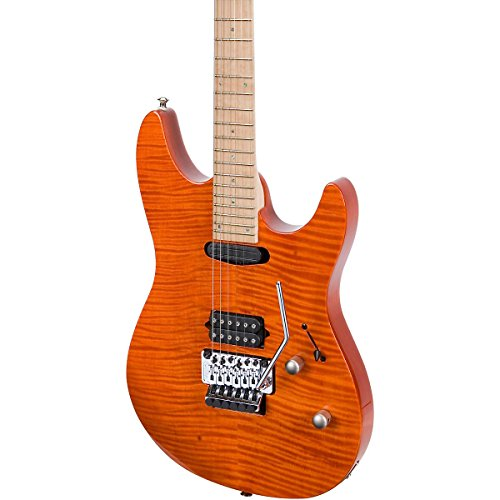 Laguna Le924 Electric Guitar Awesome Orange Transparent