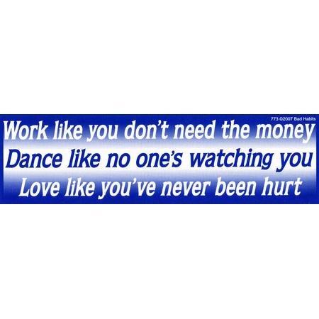 Work, Dance, Love