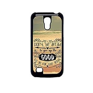 Vibhar printed case back cover for Samsung Galaxy S4 Mini DontBAfraid