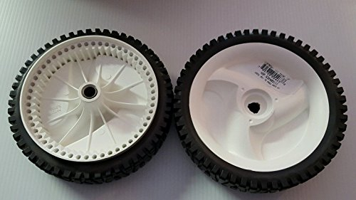 "CRAFTSMAN & FITS HUSQVARNA 8"" FRONT DRIVE WHEELS 194231X427 532403111 OEM PAIR, New, Free Shipping"