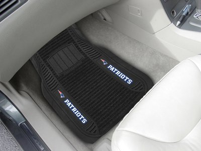 New England Patriots Car Mats - Deluxe Set