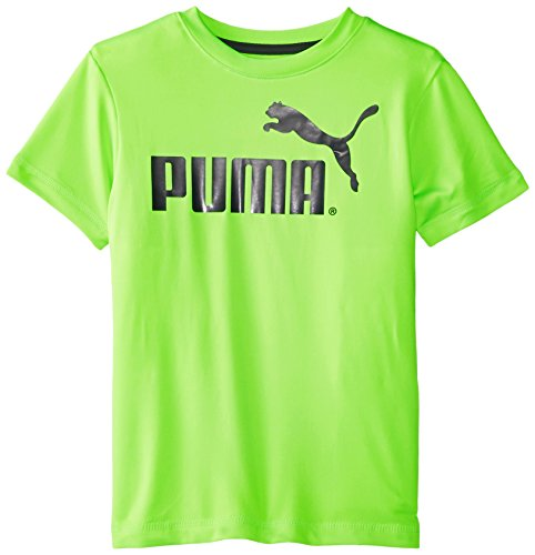Puma Little Boys 39 No 1 Logo Tee Active Green 7 Apparel
