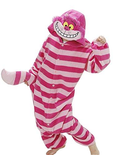 DATO Pigiama Animale Adulto Unisex Kigurumi Onesies Carnevale Halloween Anime Cosplay Costume Cheshire Cat