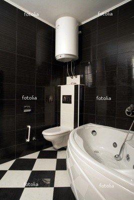 "Wallmonkeys Peel and Stick Wall Graphic - Small Bathroom - 36""H x 24""W"