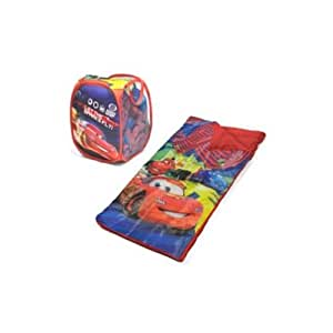 Disney Cars Slumber Sleeping Bag with Bonus Hamper