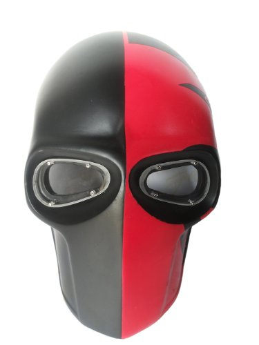 New Unique Handmade The GI-JOE Paintball Airsoft BB Gun Mask Black RED Army PROTECTIVE GEAR OUTDOOR SPORT And Fancy Party Ghost Masks.