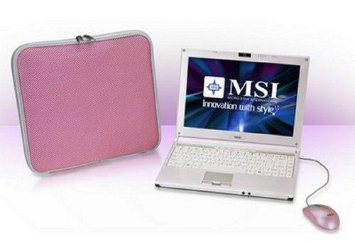 MSI PR210 YA Edition Pink Laptop